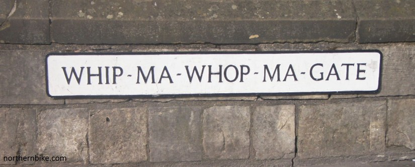 York - whip ma whop ma gate