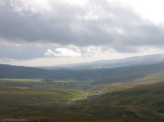 looking back into Teesdale from the Alston Road