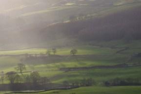 Swaledale, Yorkshire from Fremington Edge