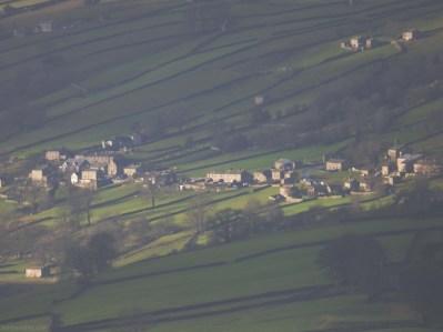 Healaugh, Swaledale, Yorkshire from Fremington Edge