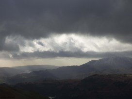Coniston Water from Grisedale Tarn