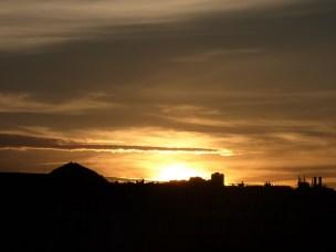 Coucher de soleil, Bordeaux