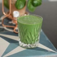 Lakrids og spinat smoothie
