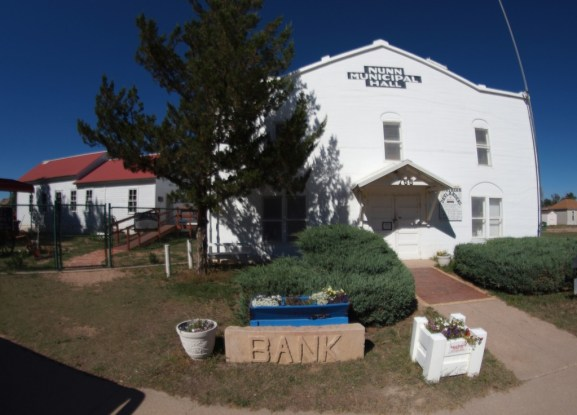 The exterior of the Northern Drylander Museum in Nunn.