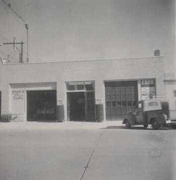 Montgomery Ward Auto Shop - 1950s
