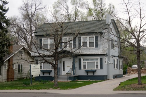 1417 S .College, built in 1924, was originally the home of Clark Alford.