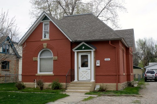 509 S. Howes was built in 1904 by building contractor and city fire chief, Rob Roy McGregor.