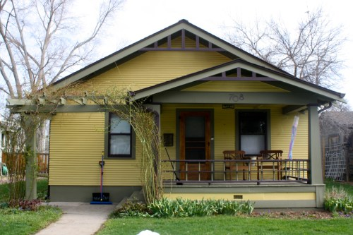 This modest bungalow at 708 W. Oak was recently featured in Time Magazine.