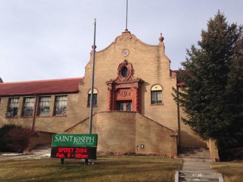 Saint Joseph's School was built in 1925.