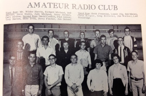 The Amateur Radio Club in 1965.