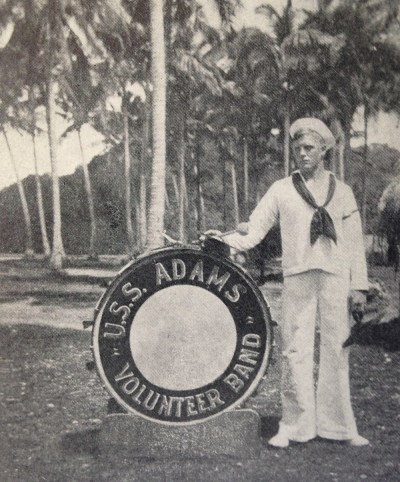 Hugo in Samoa. (Photo from the book, Hugo's Odyssey.)