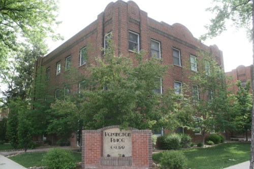 Kensington Place was built near campus along a street that also had a school and a grocery.