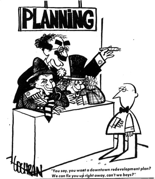Cochrane cartoon from the March 31, 1976 Triangle Review.