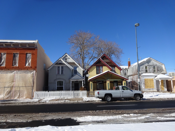 Houses on