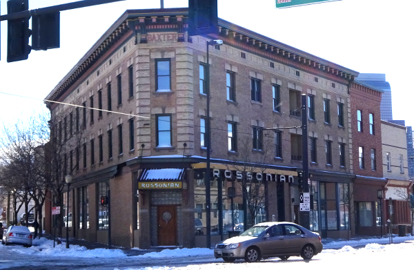 The Rossonian - an important historic building in Five Points.