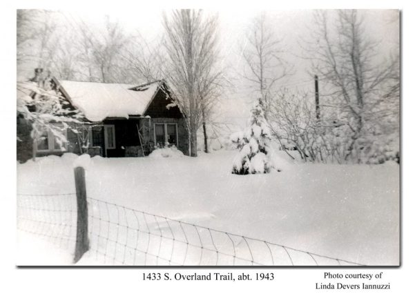 1433 Overland Trail abt 1943