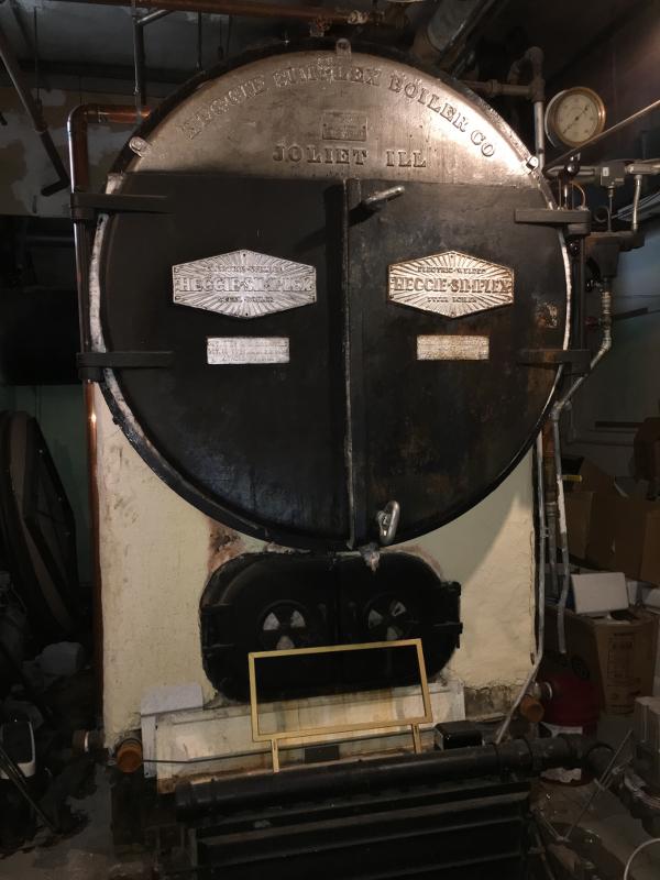 The original boiler.