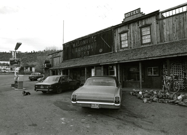 The Masonville store in the 1980s. (Photo on file in the Fort Collins Archive #H14029.)
