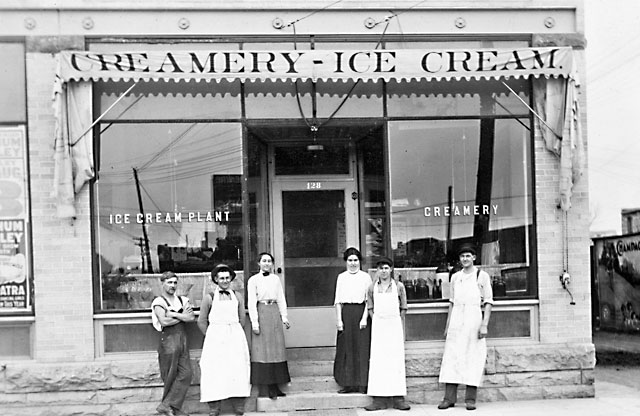 This Johnston Creamery photo is from an article by Mac McNeill from November 2, 2016.