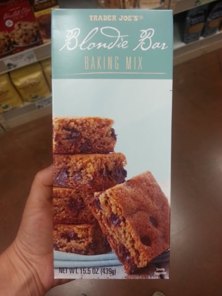 Trader Joe's Blondies