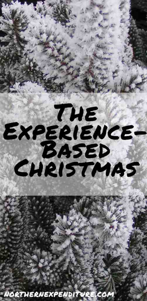 the experience based christmas