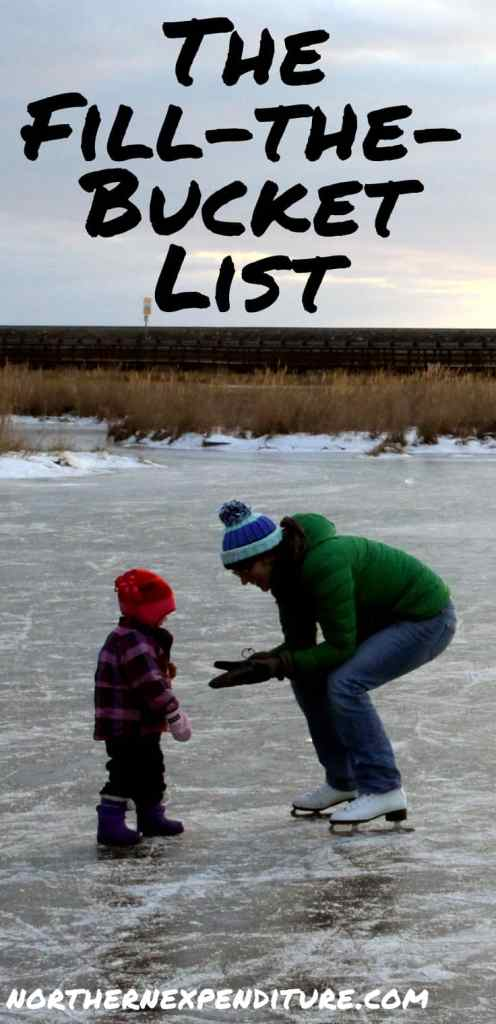fill the bucket list