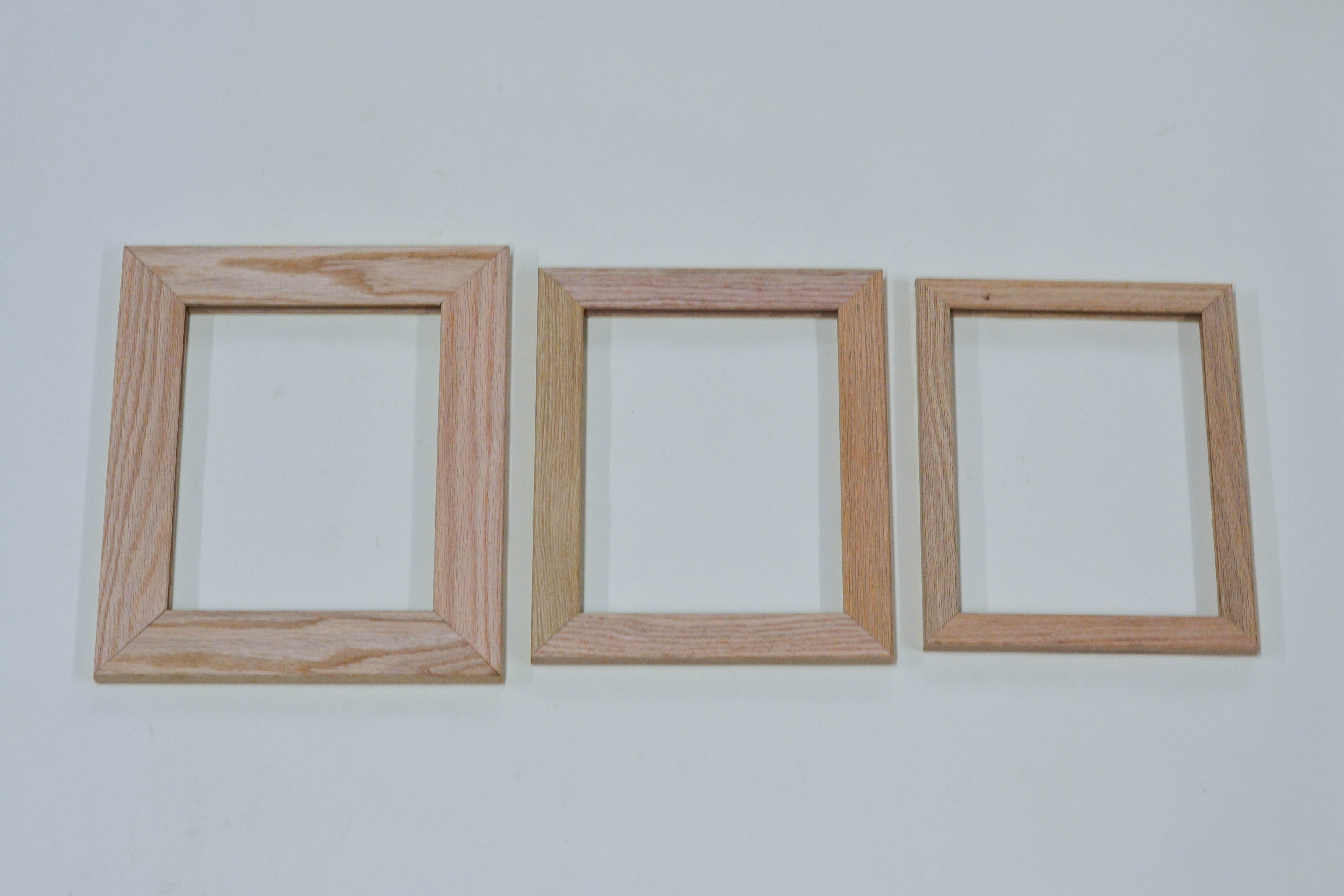 Unfinished Picture Frames