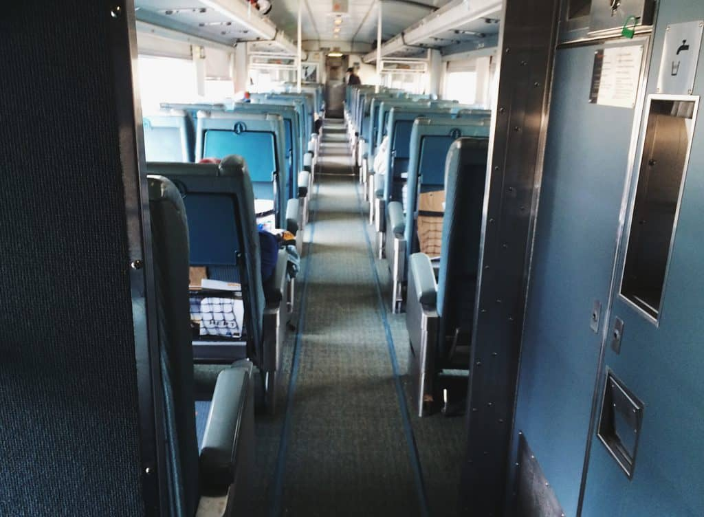 "Via Rail ""The Canadian"" Train"