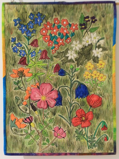 """Margaret Mehaffy """"Mary's Meadow"""""""