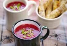 Beetroot & pumpkin soup