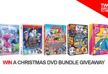 Christmas DVD bundle