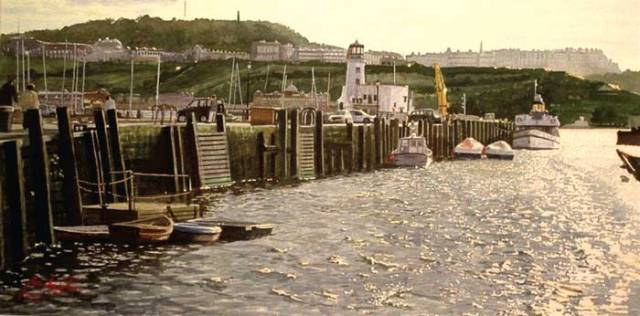The Harbour at Scarborough