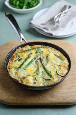 british asparagus tortilla