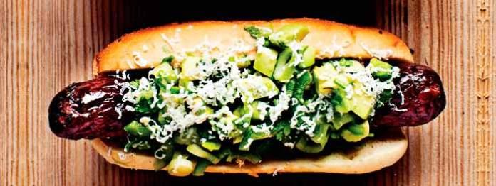 Avocado Salsa Hotdoguero