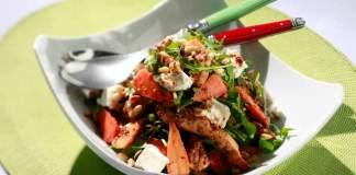 Honey and Mustard Glazed Chicken Chantenay Salad