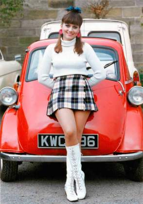 Tricia Penrose Bubble car (BMW Isetta 300)