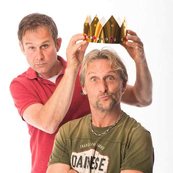 Carl Fogarty and Jamie Whitham