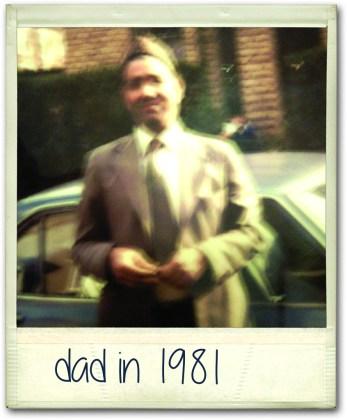 Rizwan's Dad in 1981