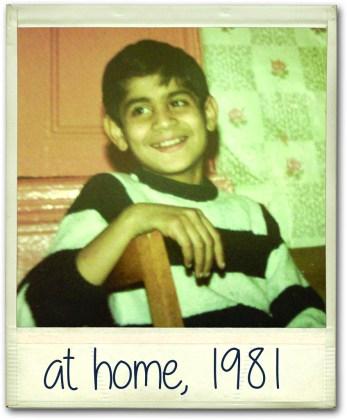 Riz at home 1981