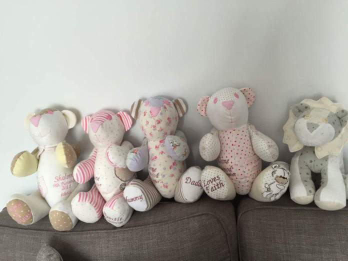 Shalome Harwood teddy bears