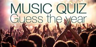 Music quiz guess the year