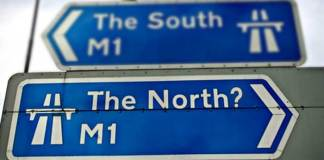 Where exactly is the North?
