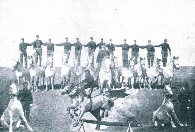 Troopers of the US Cavalry