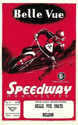 Speedway program cover