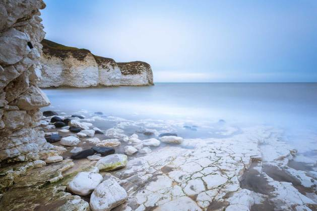 North East coast - Flamborough north landing