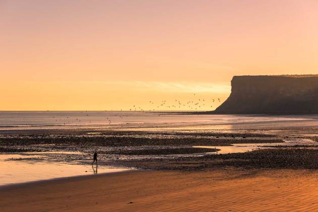 North East coast - Saltburn-by-the-sea morning run