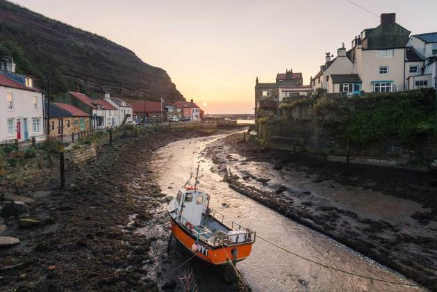 North East coast - Staithes