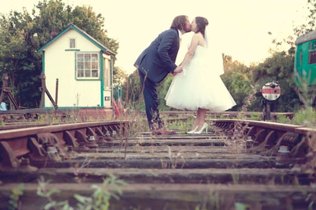 Railway wedding