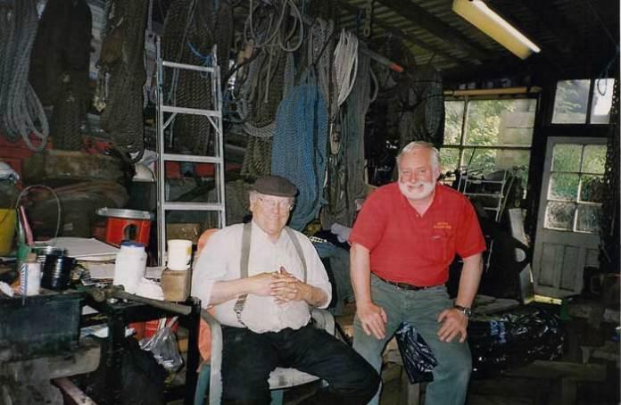 Fred Dibnah and Alan McEwen