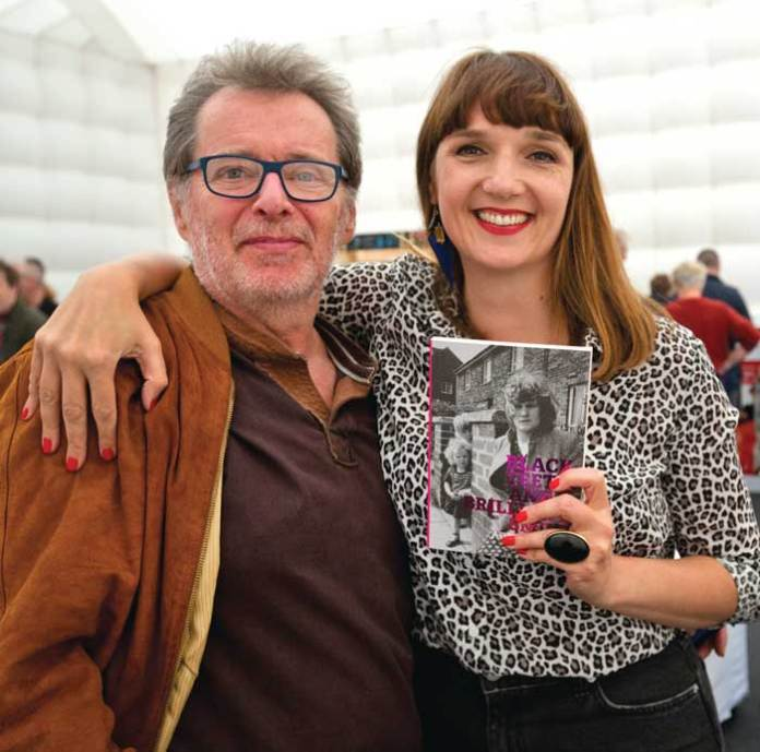 Adelle with George Costigan